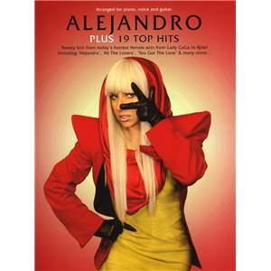 COMPILATION - ALEJANDRO PLUS 19 TOP HITS P/V/G