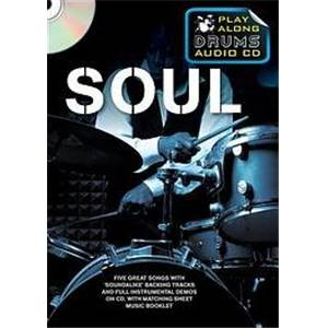 COMPILATION - SOUL PLAY ALONG DRUMS (FORMAT DVD) + CD