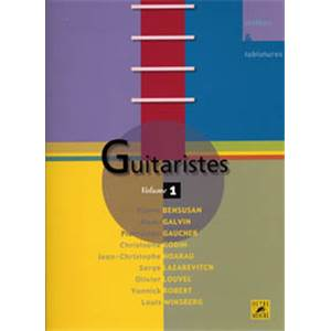 COMPILATION - GUITARISTES VOL.1 TAB