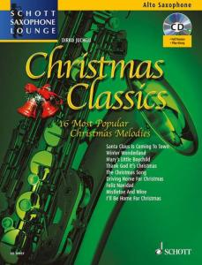 COMPILATION - CHRISTMAS CLASSICS FOR ALTO SAXOPHONE (MIB) +AUDIO ONLINE