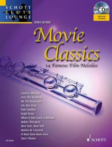 COMPILATION - MOVIE CLASSICS FOR FLUTE +CD