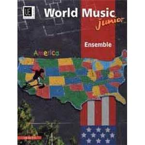 COMPILATION - WORLD MUSIC AMERICA JUNIOR (AMERIQUE) CONDUCTEUR + CD
