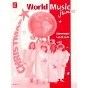 COMPILATION - WORLD MUSIC JUNIOR CHRISTMAS (NOEL) PARTIES SEPAREES
