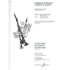 MOZART W.A. - INITIATION A MOZART VOL.2 15 ETUDES AGREABLES NIVEAU MOYEN