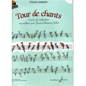 COMPILATION - TOUR DE CHANTS LIVRE DE MELODIES VOL.2 + CD