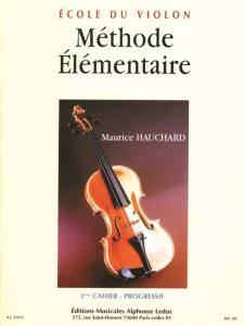 HAUCHARD MAURICE - METHODE ELEMENTAIRE VOL.2