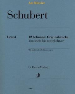 SCHUBERT FRANZ - AM KLAVIER (12 PIECES ORIGINALES) - PIANO