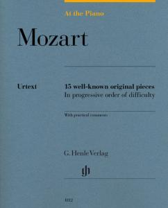 MOZART W.A. - AT THE PIANO (15 PIECES ORIGINALES) - PIANO