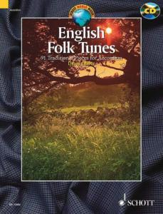 ENGLISH FOLK TUNES +CD (88 TRADITIONNELS ANGLAIS) - ACCORDEON