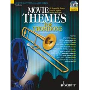 COMPILATION - MOVIE THEMES FOR TROMBONE + CD