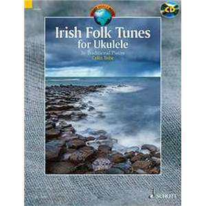 COMPILATION - IRISH FOLK TUNES FOR UKULELE + CD UKULELE