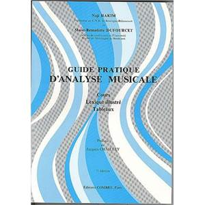 HAKIM/DUFOURCET - GUIDE PRATIQUE D'ANALYSE MUSICALE - ANALYSE