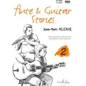 ALLERME JEAN-MARC - FLUTE AND GUITAR STORIES VOL.2 + CD - FLUTE ET GUITARE