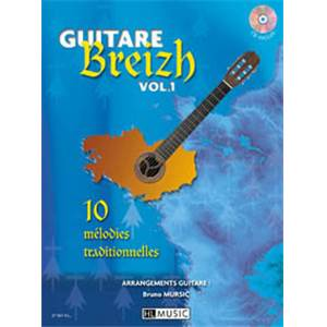 MURSIC BRUNO - GUITARE BREIZH VOL.1 + CD