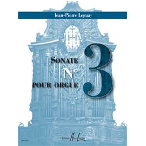 LEGUAY JEAN-PIERRE - SONATE N°3 - ORGUE