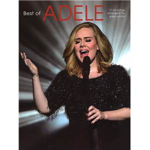 ADELE - BEST OF EASY PIANO/V/G UPDATED VERSION 2016