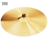 CYMBALES RIDE