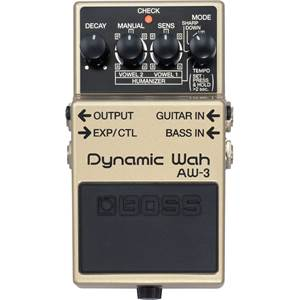 PEDALE D'EFFETS BOSS AW 3 DYNAMIC WAH