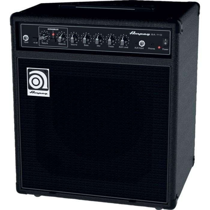 ampli basse ampeg ba 110 v2. Black Bedroom Furniture Sets. Home Design Ideas