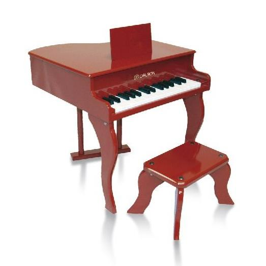delson piano bebe 30 touches rouge. Black Bedroom Furniture Sets. Home Design Ideas