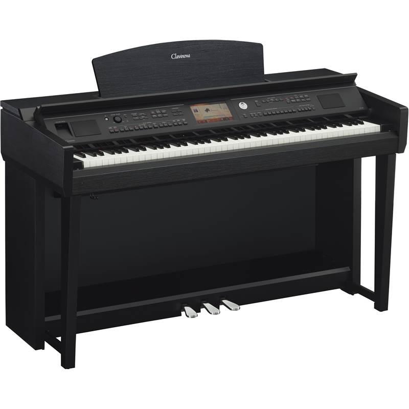 Piano numerique meuble yamaha cvp 705 b paul for Meuble yamaha