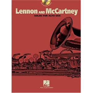 LENNON / MCCARTNEY - SOLOS ALTO SAXOPHONE + CD
