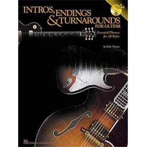 TURNER DALE - INTROS ENDINGS ET TURNAROUNDS FOR GUITAR TAB. + CD