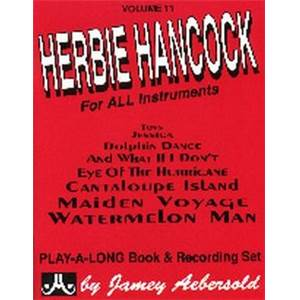 HANCOCK HERBIE - AEBERSOLD 011 8 JAZZ/ROCK + CD