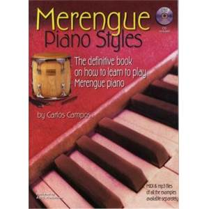 CAMPOS CARLOS - MERENGUE PIANO STYLES HOW TO PLAY MERENGUE TO PIANO + CD