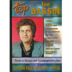 DASSIN JOE - TOP DASSIN PIANO SIMPLIFIE PAROLES ET ACCORDS