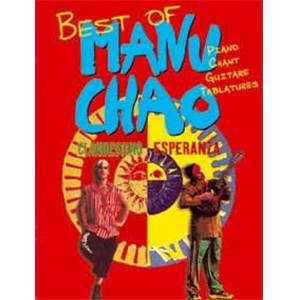 CHAO MANU - BEST OF P/V/G TAB.