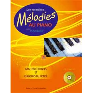 LE COZ MICHEL - MES PREMIERES MELODIES AU PIANO VOL.2 + CD