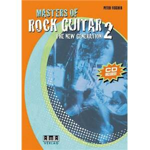 FISCHER PETER - MASTERS OF ROCK GUITAR 250 LICKS + CD