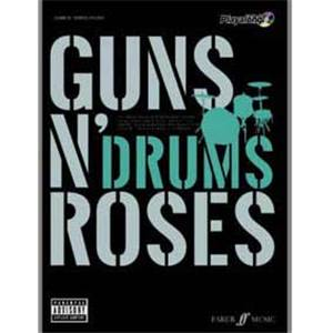 GUNS N' ROSES - AUTHENTIC DRUMS PLAY ALONG + CD