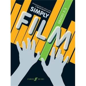 COMPILATION - SIMPLY FILM GRADES 2 3 PIANO SOLOS