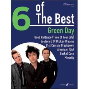 GREEN DAY - 6 OF THE BEST GUITAR TAB.