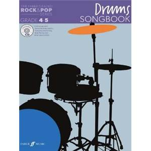 COMPILATION - ROCK & POP GRADED SONGBOOK DRUMS GRADE 4 5 + CD