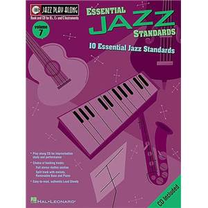 COMPILATION - JAZZ PLAY ALONG VOL.007 ESSENTIAL STANDARDS + CD