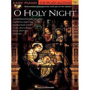 COMPILATION - EASY PIANO CD PLAY ALONG VOL.07 O HOLLY NIGHT + CD