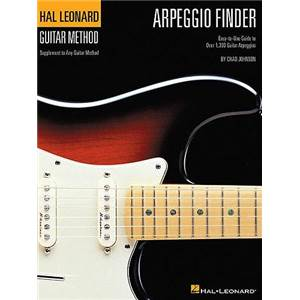 JOHNSON CHAD - GUITAR METHOD ARPEGGIO FINDER