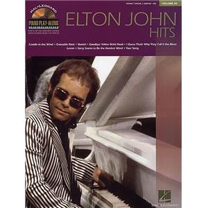 JOHN ELTON - PIANO PLAY ALONG VOL.030 + CD
