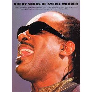 WONDER STEVIE - GREAT SONGS P/V/G