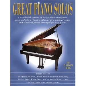 COMPILATION - GREAT PIANO SOLOS PLATINIUM BOOK