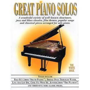COMPILATION - GREAT PIANO SOLOS WHITE BOOK