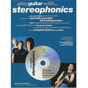 STEREOPHONICS - PLAY GUITAR TAB. + CD
