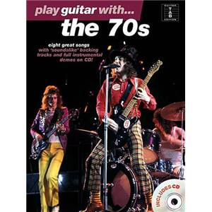 COMPILATION - PLAY GUITAR WITH THE 70S + CD