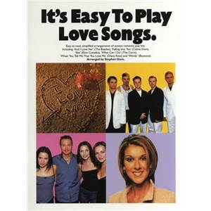 COMPILATION - IT'S EASY TO PLAY LOVE SONGS