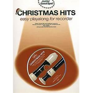 COMPILATION - JUNIOR GUEST SPOT: CHRISTMAS HITS EASY PLAY ALONG (FLÛTE A BEC) + CD