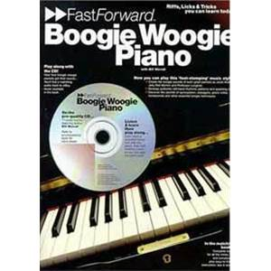 WORRALL BILL - FAST FORWARD BOOGIE WOOGIE PIANO + CD