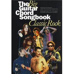COMPILATION - BIG GUITAR CHORD SONGBOOK : CLASSIC ROCK